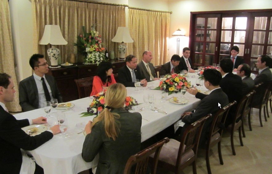 AETIN Mission to Vietnam early 2013: fruitful results from collective meetings
